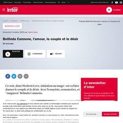 Bellinda Cannone, l'amour, le couple et le désir