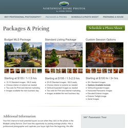 Packages and Pricing - Bellingham Real Estate Photography