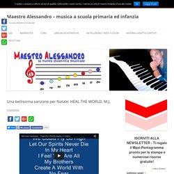 Maestro Alessandro – musica a scuola primaria ed infanzia