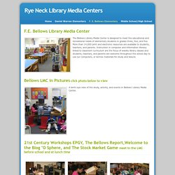 F. E. Bellows Elementary - Rye Neck Library Media Centers