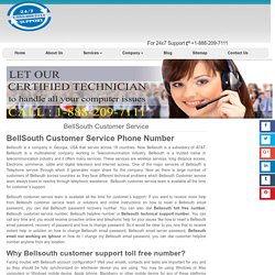 BellSouth Customer Service 1-888-738-4333 Phone Number