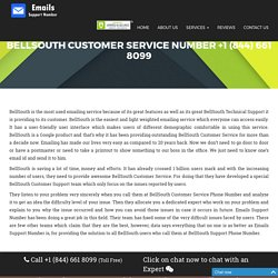 BellSouth Customer Service Number {+1 (844) 661 8099} BellSouth Help Phone Number