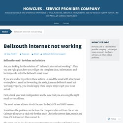 Bellsouth internet not working