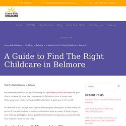 Belmore Child Care Centre