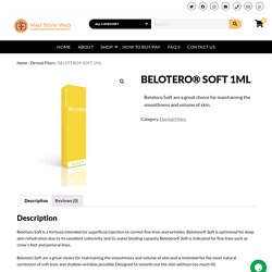 BELOTERO® SOFT 1ML – Med Store Web