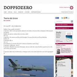 Marco Belpoliti. Teoria del drone