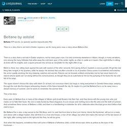 Beltane by astolat: merlin_flashfic