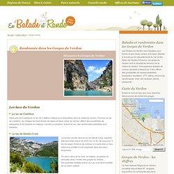 Gorges du Verdon : Sentiers pédestres, lacs du Verdon, belvédères, Castellane et sentier Martel ...