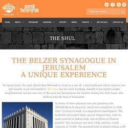 The Shul - The Belzer Synagogue in Jerusalem, Power of Prayers