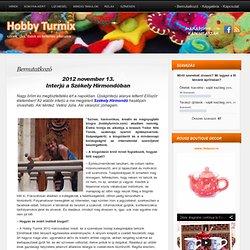 Bemutatkozó « Hobby Turmix