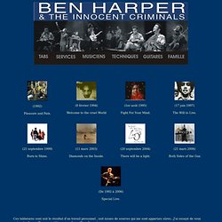 Ben Harper Tablatures