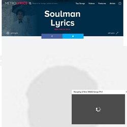 Ben L'oncle Soul - Soulman Lyrics
