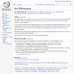 Ben Witherington