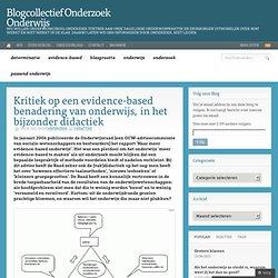 Blogcollectief Onderzoek Onderwijs