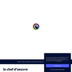 le chef d'oeuvre by Benamer Cherifa on Genially