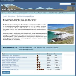 South Uist, Benbecula and Eriskay walks