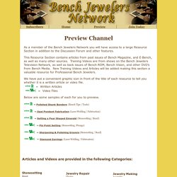 Bench Jewelers Network