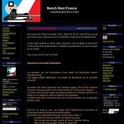 Bench Rest France