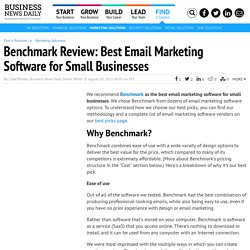 Benchmark Review - Best Email Marketing Software Overall
