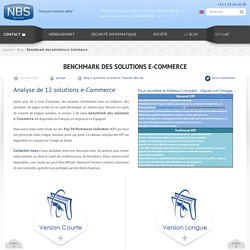 Benchmark des solutions e-Commerce