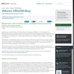 Weathervane, a benchmarking tool for virtualized infrastructure and the cloud, is now open source. - VMware VROOM! Blog