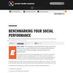 Benchmarking Your Social Performance