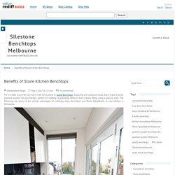 Benefits of Stone Kitchen Benchtops