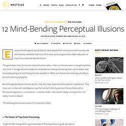 12 Mind-Bending Perceptual Illusions