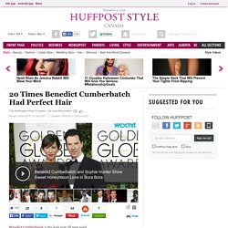 20 Times Benedict Cumberbatch Had Perfect Hair