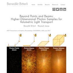 Benedikt Bitterli's Portfolio