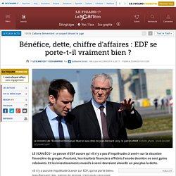 Bénéfice, dette, chiffre d'affaires : EDF se porte-t-il vraiment bien ?