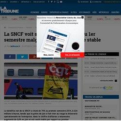 La SNCF voit son bénéfice baisser au 1er semestre malgré un chiffre d'affaire stable
