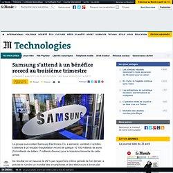 Samsung s'attend à un bénéfice record au troisième trimestre