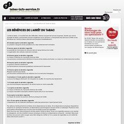 Les bénéfices de l'arrêt du tabac / Mes Fiches Pratiques / Page d'accueil - tabac-info-service.fr
