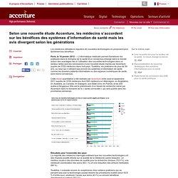 Les bénéfices des systèmes d'information pour le secteur santé