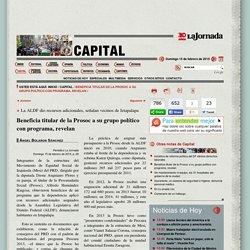 La Jornada: Beneficia titular de la Prosoc a su grupo político con programa, revelan