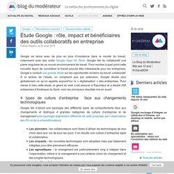 Étude Google : rôle, impact et bénéficiaires des outils collaboratifs en entreprise
