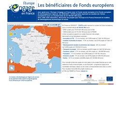 EUROPE - Les bénéficiaires de Fonds européens