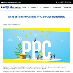 Without Pain No Gain: Is PPC Service Beneficial