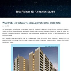 3D Exterior Rendering Helps in Expressing Design Ideas