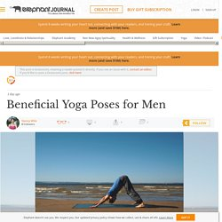 Beneficial Yoga Poses for Men