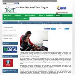 Ciegos de Colombia se benefician de proyecto de alfabetización digital