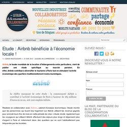 Etude : Airbnb bénéficie à l'économie locale