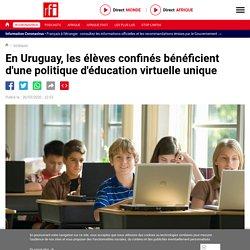 En Uruguay, les élèves confinés bénéficient d'une politique d'éducation virtu...