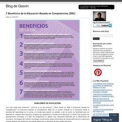 7 Beneficios de la Educación Basada en Competencias (EBC)