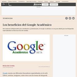 Los beneficios del Google Académico