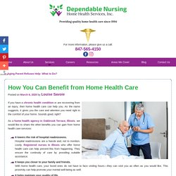 How You Can Benefit from Home Health Care