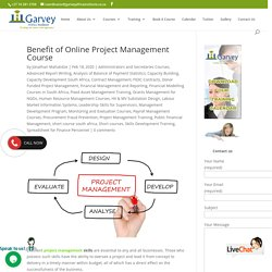 Benefit of Online Project Management Short Course in South Africa