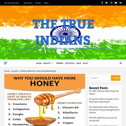 Honey Benefits, Uses, Advantages and Properties
