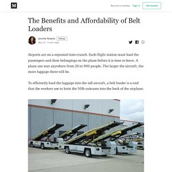 The Benefits and Affordability of Belt Loaders